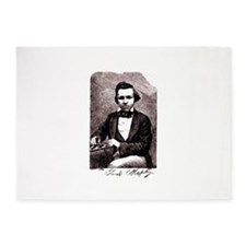 Chess player Paul Charles Morphy Am 5'x7'Area Rug