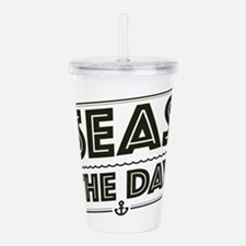 Seas The Day Acrylic Double-wall Tumbler