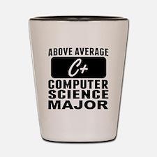 Above Average Computer Science Major Shot Glass