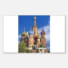Saint Basil's Cathedral Russian Orthodox C Decal