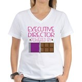 Executive director Womens V-Neck T-shirts