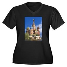 Saint Basil's Cathedral Russian Plus Size T-Shirt