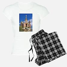 Saint Basil's Cathedral Rus Pajamas