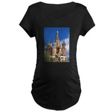 Saint Basil's Cathedral Russian Maternity T-Shirt