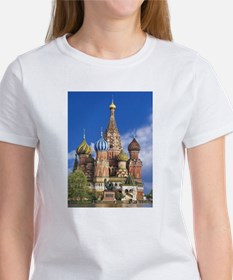 Saint Basil's Cathedral Russian Orthodox C T-Shirt