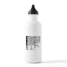 Cardinal Snow Scene Water Bottle