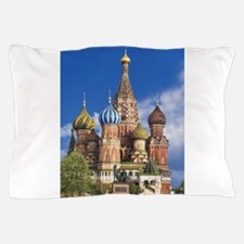 Saint Basil's Cathedral Russian Orthod Pillow Case