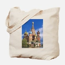 Saint Basil's Cathedral Russian Orthodox Tote Bag