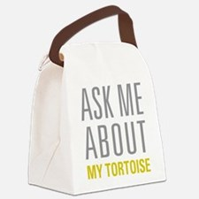 My Tortoise Canvas Lunch Bag