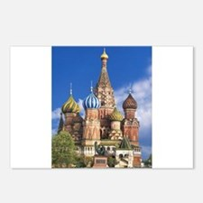 Saint Basil's Cathedral R Postcards (Package of 8)