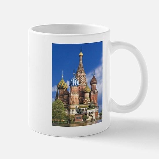 Saint Basil's Cathedral Russian Orthodox Chur Mugs
