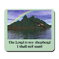 Lord is My Shepherd Version 1 - Mousepad
