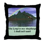 Lord Is My Shepherd - Throw Pillow