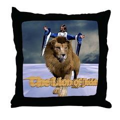 Lion Of Judah - Throw Pillow