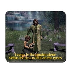 In the Garden Version 2 -Mousepad