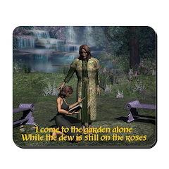 In the Garden Version 2 -Mousepad