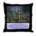In The Garden - Throw Pillow