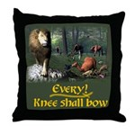 Every Knee Shall Bow - Throw Pillow
