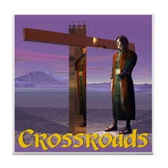 Crossroads - Tile Coaster