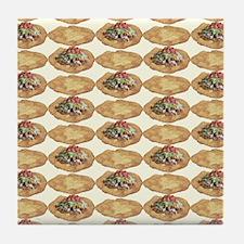 Frybread ala Taco Tile Coaster