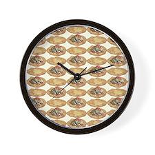 Frybread ala Taco Wall Clock