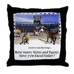 Coliseum - Throw Pillow