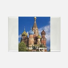Saint Basil's Cathedral Russian Orthodox C Magnets
