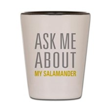 My Salamander Shot Glass