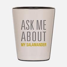My Salamander Shot Glass
