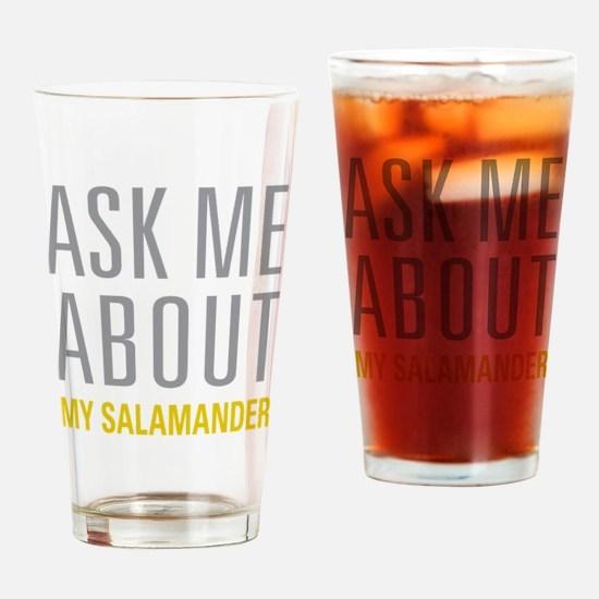 My Salamander Drinking Glass
