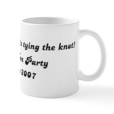 But us a shot, Jo's tying the Mug