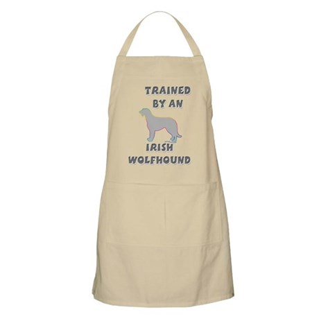 Wolfhound Silver BBQ Apron