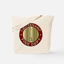 Lieutenant fire department symbol Tote Bag