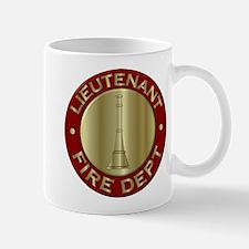 Lieutenant fire department symbol Mugs