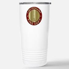 Lieutenant fire departm Travel Mug