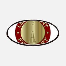 Lieutenant fire department symbol Patch