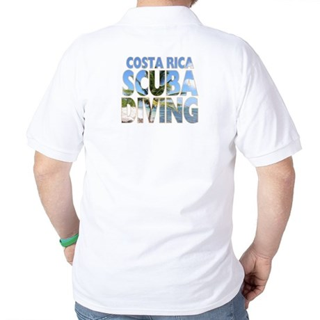 Costa Rica Scuba Diving Golf Shirt
