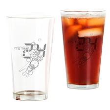24 Clockwork Drinking Glass