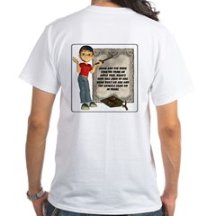 Dennis Quotes (Adam & Eve) - White T-Shirt