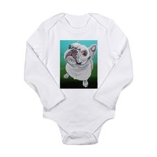White French Bulldog Body Suit