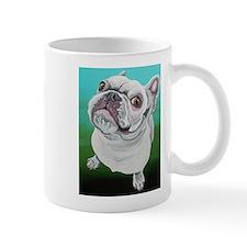 White French Bulldog Mugs