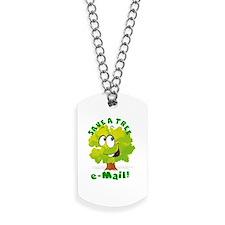 SAVE A TREE - E-MAIL Dog Tags