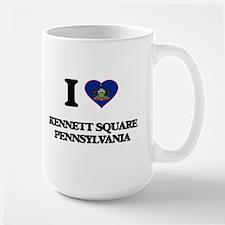 I love Kennett Square Pennsylvania Mugs