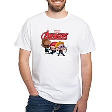 Chibi Hawkeye-Widow-Fury Stylized Shirt