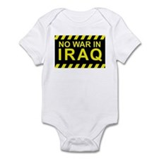 No War In Iraq Infant Creeper
