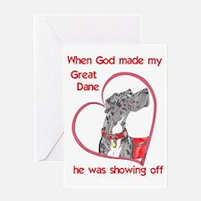 NMrl Showoff Greeting Card