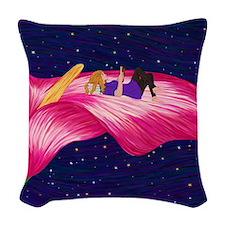 Book Lover's Fantasy Woven Throw Pillow