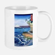 Cliff Bluff View Mt Fuji, Mugs