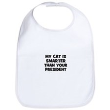 my cat is smarter than your p Bib