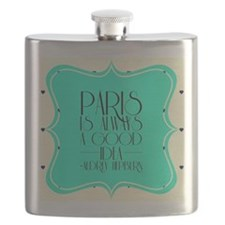 Audrey's Quote Flask